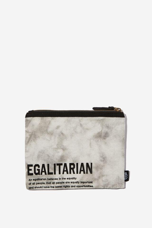 Spinout Pencil Case, EGALITARIAN