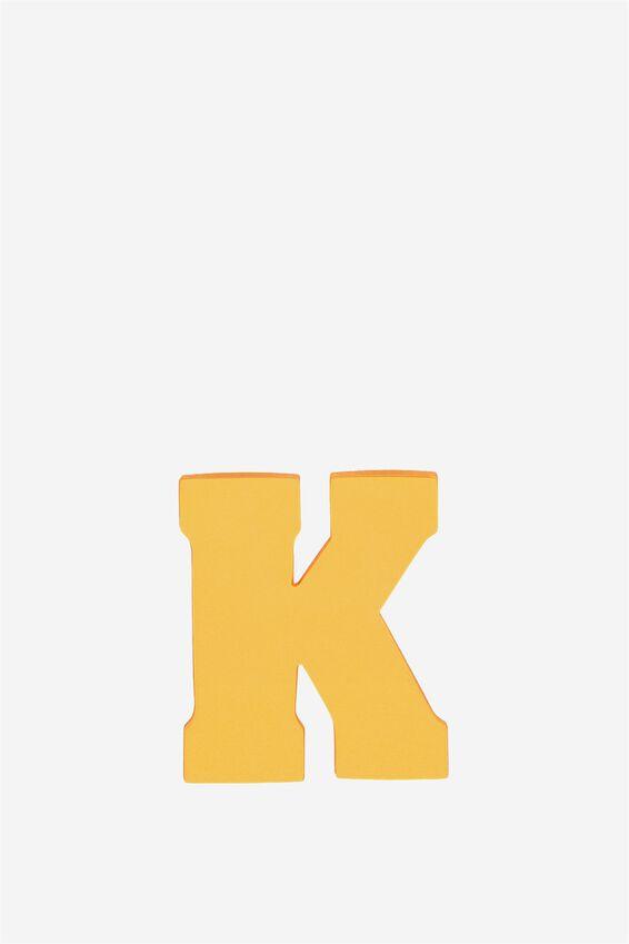 Alphabet Sticky Notes, K ORANGE