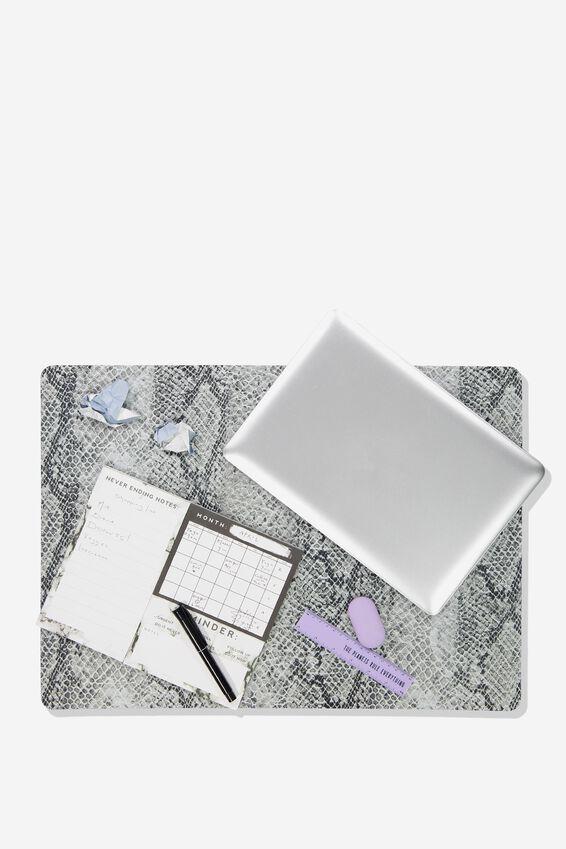 A2 Jumbo Mouse Pad, SNAKE PRINT