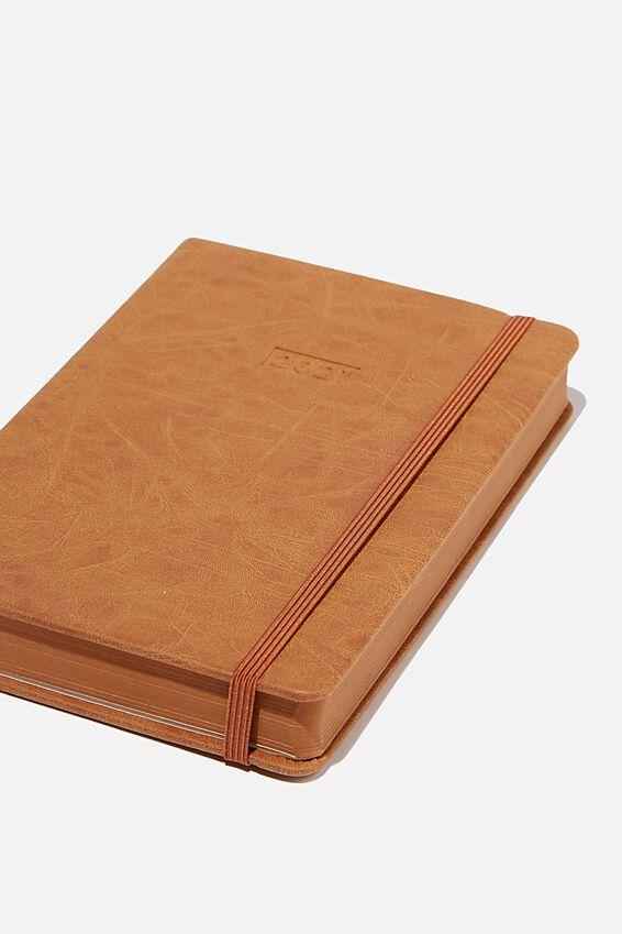 2021 A5 Daily Buffalo Diary, MID TAN