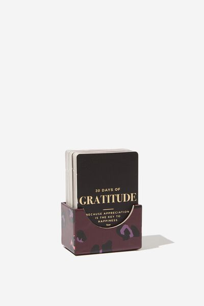 Activity Card Box, GRATITUDE