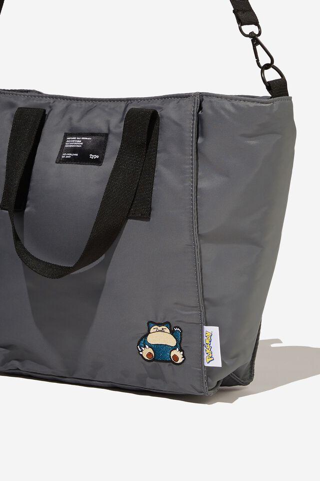 A5 Utility Book Tote Bag, LCN POK SNORELAX