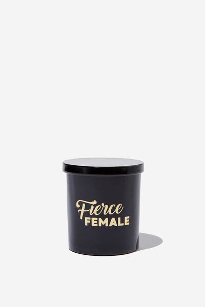 Premium Candle, FIERCE FEMALE