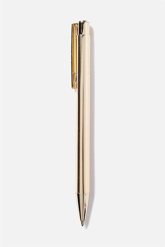 Notemaker Pen, GOLD