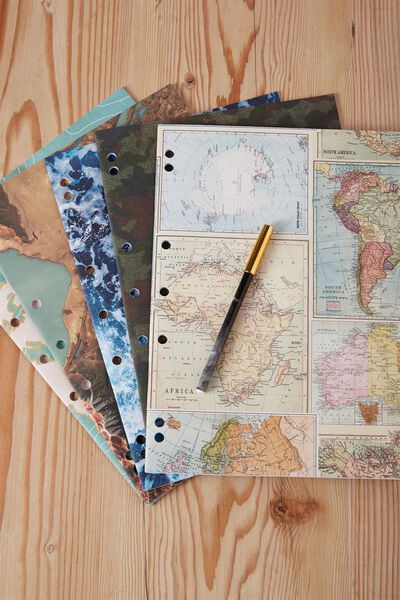 Work It Out Notebook pk 5, MAPS