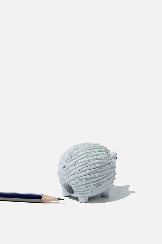 Resin Pencil Sharpener, HEDGEHOG