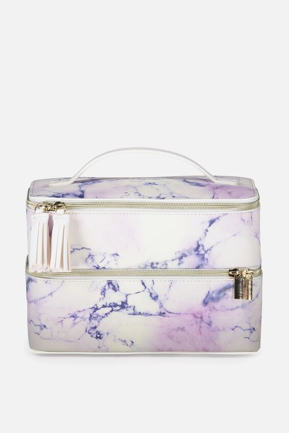 St Tropez Beauty Case, LUSH MARBLE