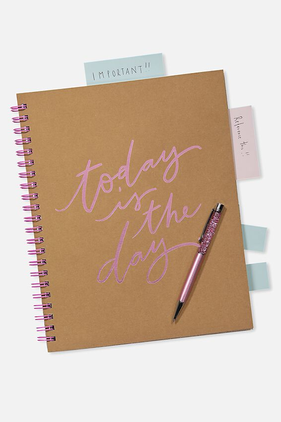 A4 Campus Notebook - 240 Pages, CRAFT TODAY