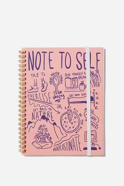 Small Spinout Notebook - V, NOTE TO SELF