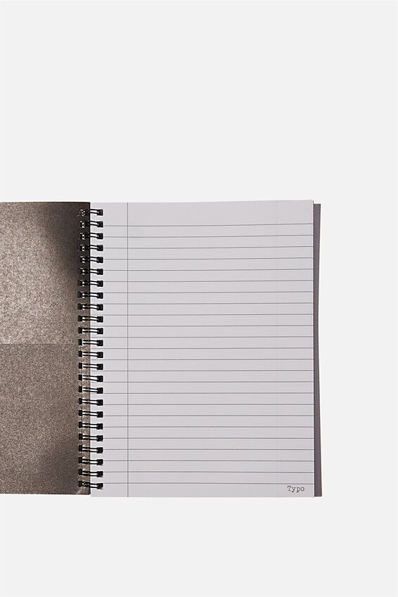 A5 Spinout Notebook Recycled, CAN LAH DITSY