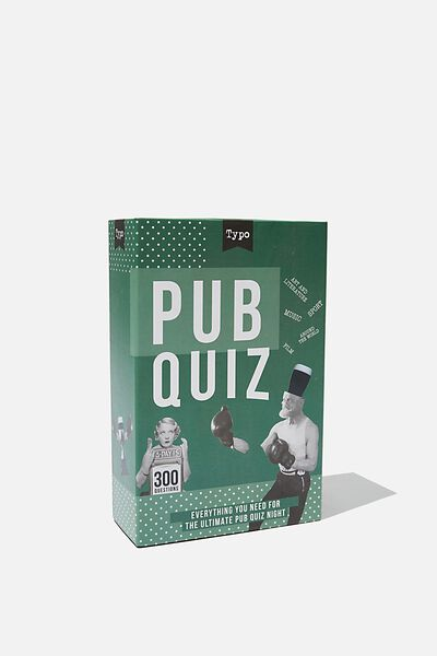 Host Your Own Pub Quiz, ASSORTED
