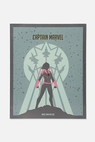 40 X 50 Limited Edition Print, LCN MARVEL CAPTAIN MARVEL