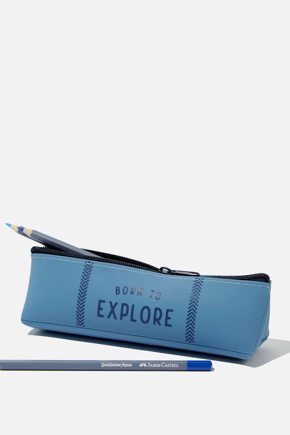 Mini Matte Pencil Case, EXPLORE PLACEMENT