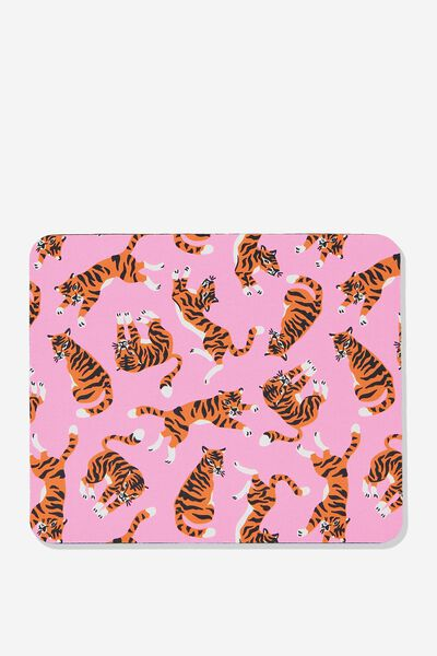 Neoprene Mouse Pad, TIGER
