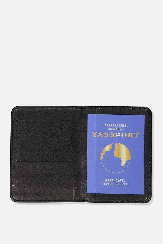 Passport Holder, LEOPARD PRINT