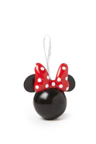 Licensed Christmas Ornament, LCN MINNIE MOUSE