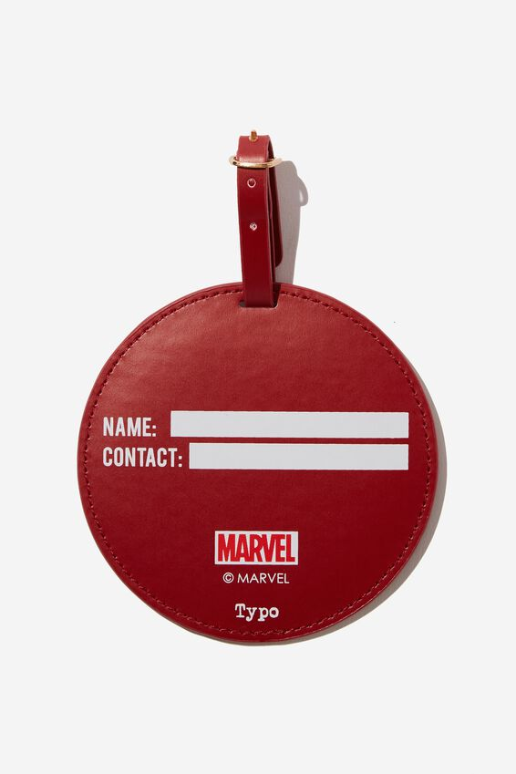 Marvel Shape Shifter Luggage Tag, LCN IRON MAN ICON