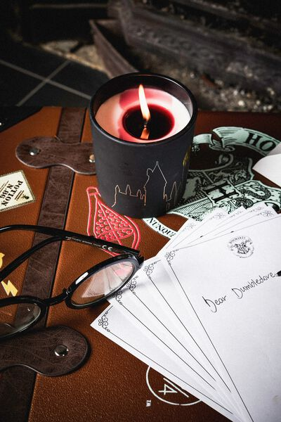 Reveal Candle, LCN WB HPO GRYFFINDOR BLACK