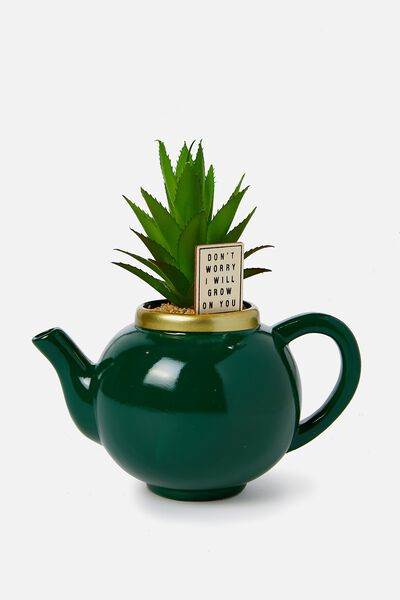 Shaped Planter, TEAPOT