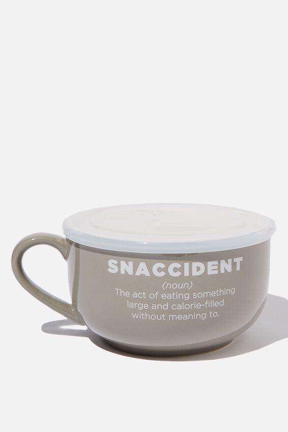 Big Mug Bowl, GREY SNACCIDENT
