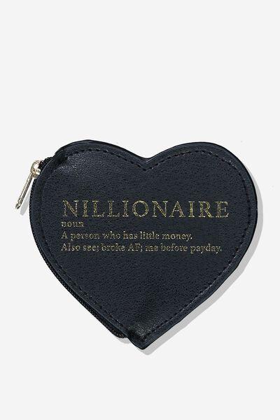 Novelty Coin Purse, NILLIONAIRE