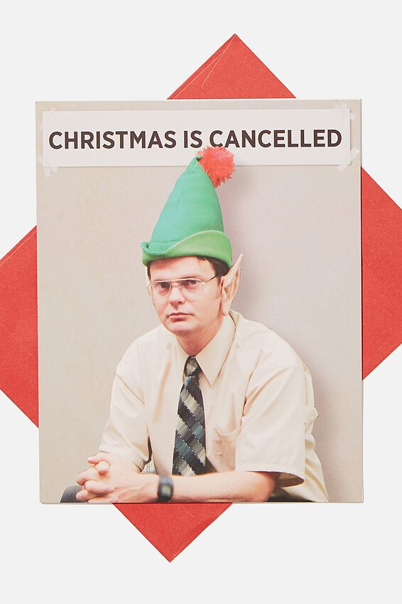 The Office Christmas Card 2020, LCN THE OFFICE DWIGHT