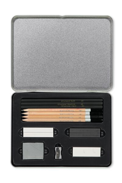 Sketch It Tin, GREY SKETCH