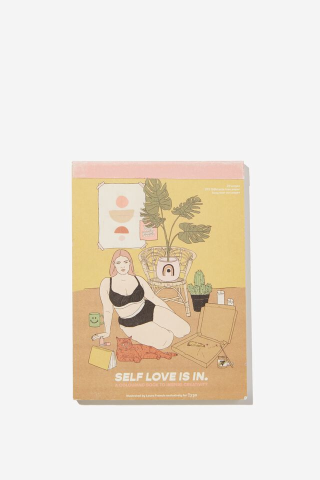 Artists Assistant Post Card, SELF LOVE IS IN