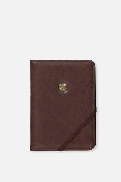 Rfid Passport Holder, BUFFALO RICH TAN