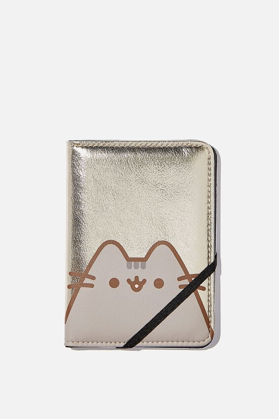 Pusheen RFID Passport Holder, LCN PUSHEE GOLD