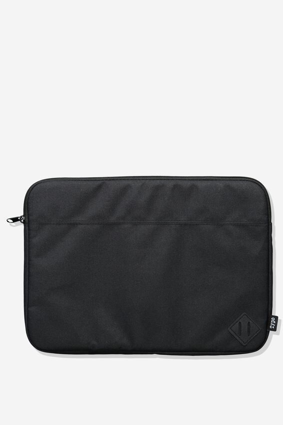 Freshman Laptop Case 13, JET BLACK