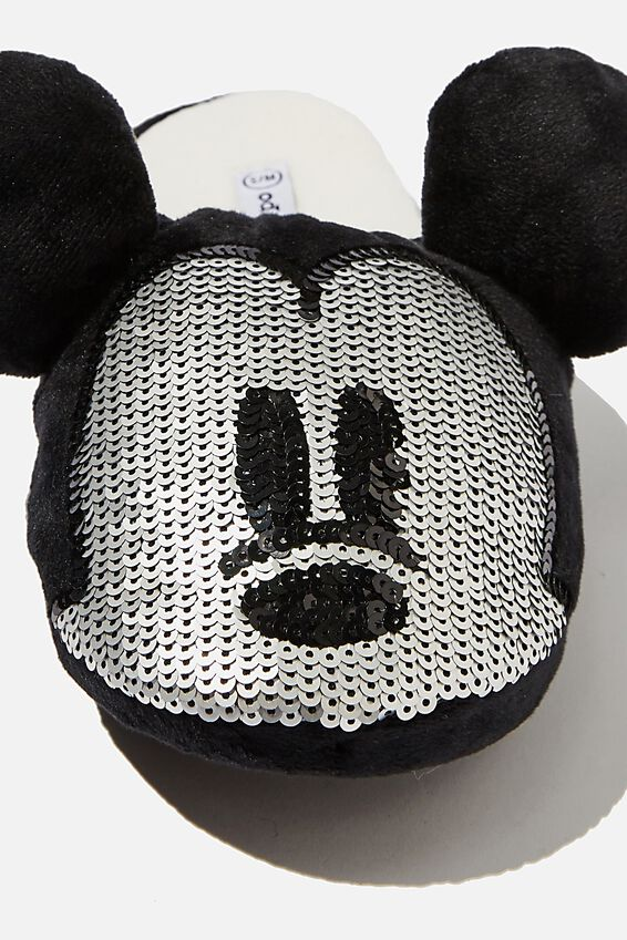 Disney Slippers, LCN MICKEY SEQUIN