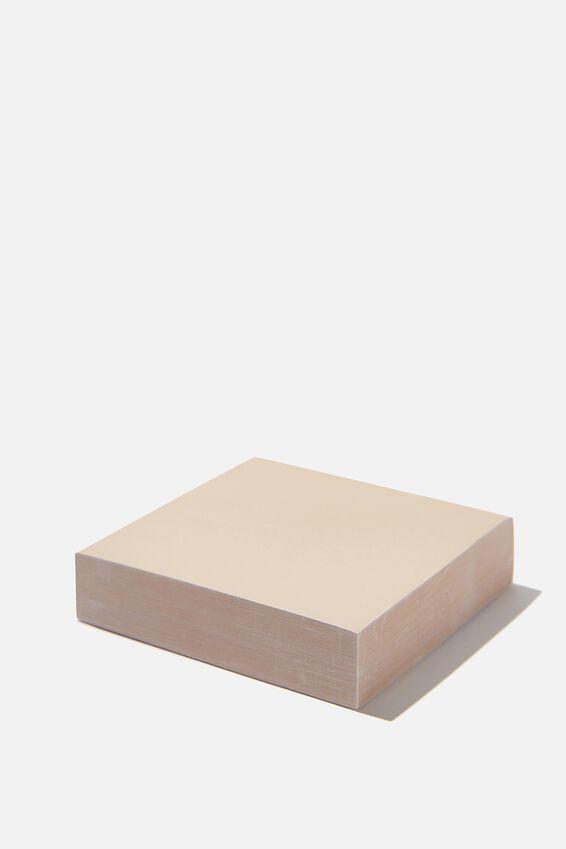 Sticky Note Block, YELLOW