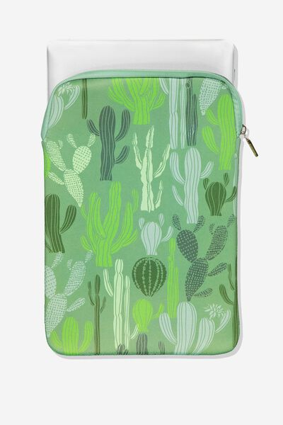 Laptop Sleeve 13 Inch, CACTUS