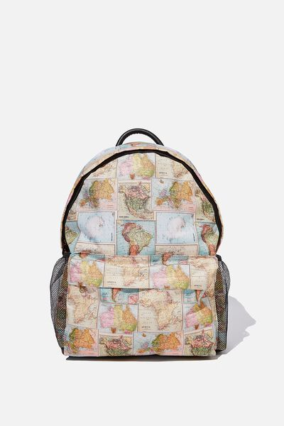 Fundamental Backpack, WORLD MAP