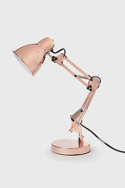 Mini Industrial Lamp Light, ROSE GOLD I