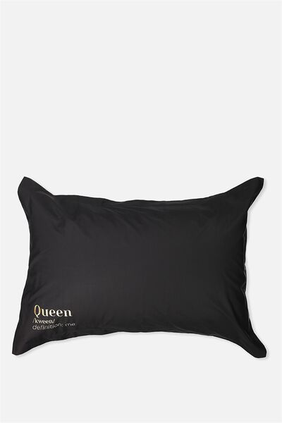 Beauty Pillow Cases, QUEEN