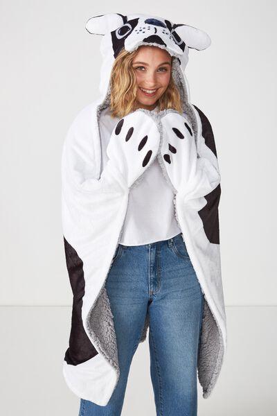 Novelty Hooded Blanket, FRENCHY