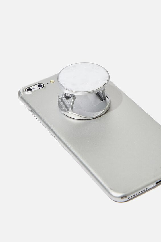 Phone Grip, WHITE PEARL