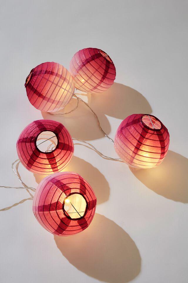 Battery Lucky Lanterns, PURPLE OMBRE