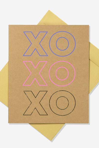 Love Card, XO