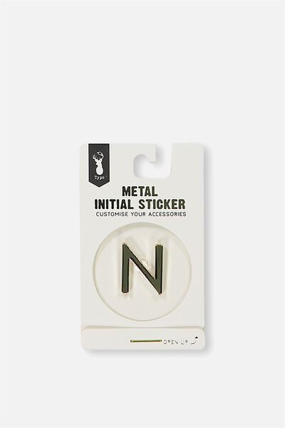 Metal Stickers, GOLD N