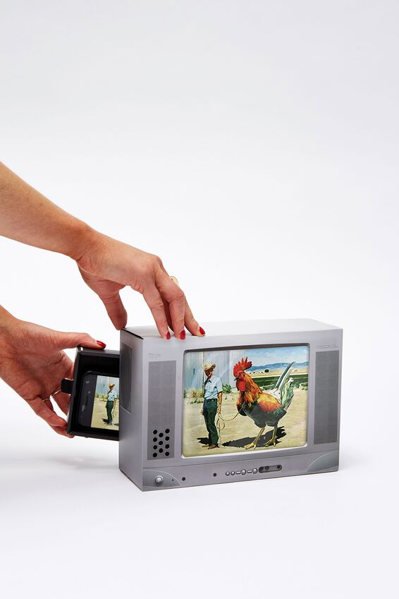 Phone Magnifier, RETRO TV
