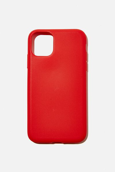 Recycled Phone Case iPhone 11, TRUE RED