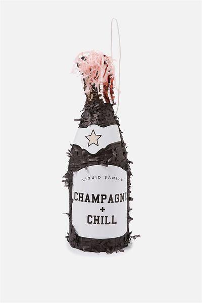 Novelty Pinata, CHAMPAGNE + CHILL