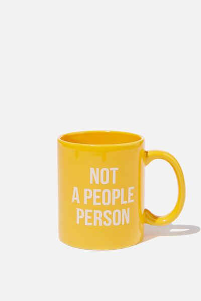 Anytime Mug, NOT A PEOPLE PERSON