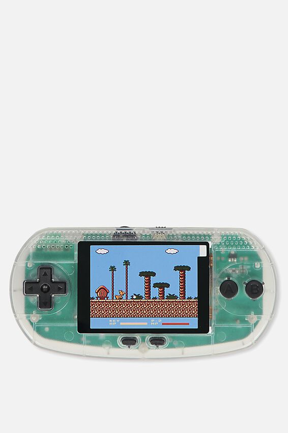 Vintage Gamer, CLEAR TRANSPARENT