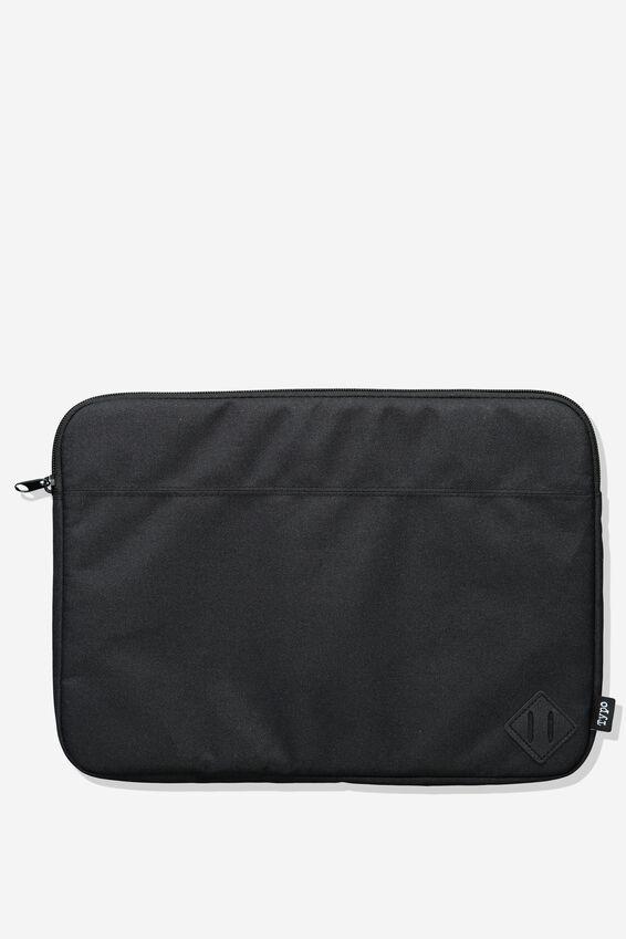 Freshman Laptop Case 13, JET BLACK
