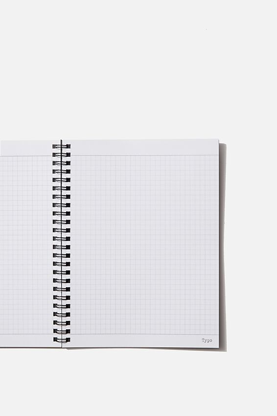 A5 Spinout Notebook Grid Internal, STRESSED