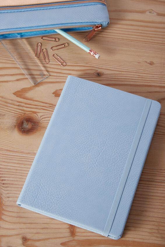 A5 Buffalo Journal, POWDER BLUE